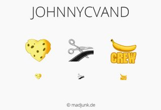 Emotes for twitch.tv/johnnycvand