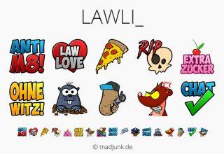 Emotes for twitch.tv/lawli_