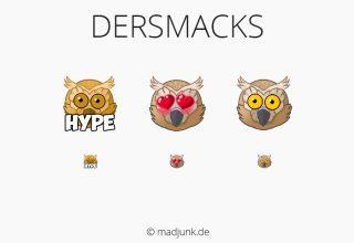 Emotes for twitch.tv/dersmacks