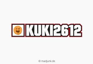 Logo for twitch.tv/kuki2612