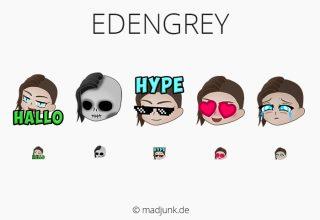Emotes for twitch.tv/edengrey_