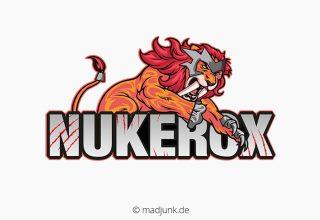 Logo design für nukerox
