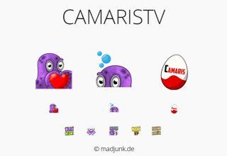 Emotes for twitch.tv/camaristv