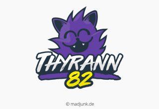 Logo design für Thyrann82