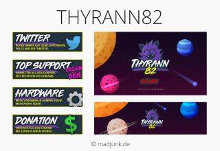 Kanaldesign für Thyrann82
