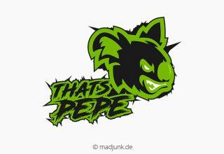 Logo Design für thatspepe